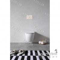 Подвесной унитаз с сидением softclose slim Dusel Levita DWHT10201130R белый