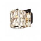 Настенный светильник Maxlight Diamante W0205 модерн, прозрачный, хром, стекло, металл, белый