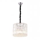 Люстра подвесная Maxlight Puccini P0266 модерн, прозрачный, хром, стекло, металл