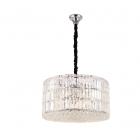 Люстра подвесная Maxlight Puccini P0267 модерн, прозрачный, хром, стекло, металл