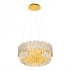 Люстра подвесная Maxlight Trend P0368 ретро, прозрачный, золотой, стекло, металл