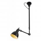 Светильник потолочный Maxlight Scandia P0326 индустриальный, черный, металл