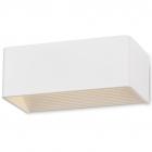 Настенный светильник Maxlight Duna W0106 минимализм, белый матовый, металл