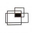 Настенный светильник Maxlight Geometric W0233D авангард, черный, акрил, металл, диммер