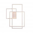 Настенный светильник Maxlight Geometric W0234 авангард, белый, акрил, металл