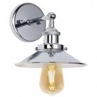 Настенный светильник Maxlight Haga W0237 ретро, лофт, хром, металл