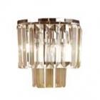 Настенный светильник Maxlight Monaco W0209 модерн, прозрачный, хром, стекло, металл