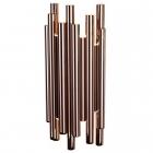 Настенный светильник Maxlight Organic Copper W0153D медь, металл, акрил, диммер