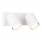 Светильник настенный спот Maxlight Top 2 W0220 хай-тек, белый, металл