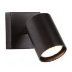 Светильник настенный  спот Maxlight Top 1 W0219 хай-тек, черный, металл