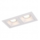 Точечный светильник встраиваемый Maxlight Hit II H0080 хай-тек, металл, белый