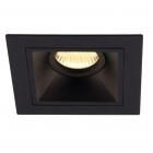 Точечный светильник встраиваемый Maxlight Hit I H0090 хай-тек, металл, черный