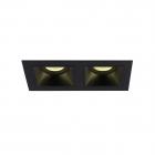 Точечный светильник встраиваемый Maxlight Hit II H0091 хай-тек, металл, черный