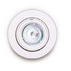 Точечный светильник встраиваемый Maxlight H0036 хай-тек, металл, белый