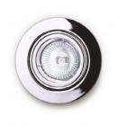 Точечный светильник встраиваемый Maxlight H0038 хай-тек, металл, белый