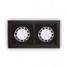 Точечный светильник встраиваемый Maxlight Matrix II H0049 хай-тек, металл, черный