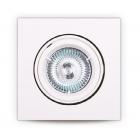 Точечный светильник встраиваемый Maxlight H0039 хай-тек, металл, белый