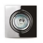 Точечный светильник встраиваемый Maxlight H0041 хай-тек, металл, хром
