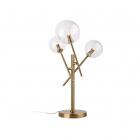 Настольная лампа Maxlight Lollipop T0035 модерн, прозрачный, латунь, стекло, металл