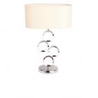 Настольная лампа Maxlight Royal T0314-01A модерн, хром, стекло, металл