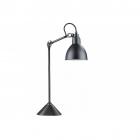 Настольная лампа на гибкой ножке Maxlight Scandia T0038 индустриальный, черный, металл