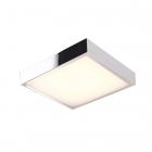 Светильник потолочный влагостойкий Maxlight Krom C0145 хай-тек, хром, металл, стекло