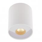 Точечный светильник накладной Maxlight Pet Round C0152 хай-тек, белый, металл, стекло