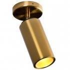 Светильник потолочный спот Maxlight Varsovia C0146 хай-тек, металл, латунь