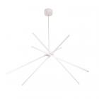 Люстра подвесная Maxlight Spider P0270 модерн, белый, металл, акрил