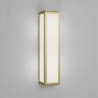 Настенный светильник с защитой от влаги Astro Lighting Mashiko 360 Classic 1121037 Золото Матовое