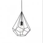 Люстра подвесная Ideal Lux Ampolla 148175 лофт, черный, металл
