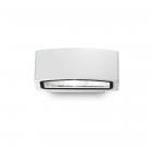 Настенный светильник Ideal Lux Andromeda 066868 современный, прозрачный, черный, стекло, белый матовый