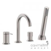 Смеситель для ванны на четыре отверстия Imprese Brenta ZMK081906050 никель