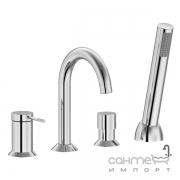 Смеситель для ванны на четыре отверстия Imprese Brenta ZMK071901050 хром