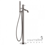 Смеситель для ванны напольный Imprese Brenta ZMK091908060 графитовый хром