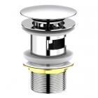 Донный клапан с переливом Imprese Brenta Pop-up ZMK071901500 хром