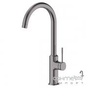 Смеситель для кухни Imprese Brenta ZMK091908150 графитовый хром