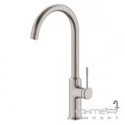Смеситель для кухни Imprese Brenta ZMK081906150 никель