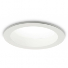 Светильник точечный встраиваемый 20 W Ideal Lux Basic Wide 193427 модерн, белый, прозрачный, стекло, металл