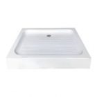 Квадратный акриловый душевой поддон Asignatura Tinto 49833005 белый