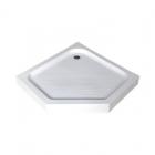 Пентагональный акриловый душевой поддон Asignatura Turia 39833005 белый