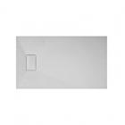 Прямоугольный душевой поддон из искусственного камня Asignatura Vik 59837004 белый матовый