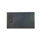 Прямоугольный душевой поддон из искусственного камня Asignatura Vik 59837002 черный матовый