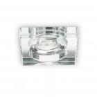 Светильник точечный встраиваемый Ideal Lux Blues 114019 модерн, прозрачный, металл