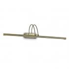 Подсветка картин Ideal Lux Bow 121130 модерн, матовая латунь