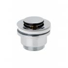 Донный клапан с переливом Genebre click pop-up 100205 45 хром