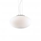 Люстра подвесная Ideal Lux Candy 086736 минимализм, окисленное стекло