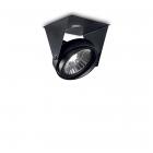 Светильник потолочный спот Ideal Lux Channel 203140 черный, алюминий