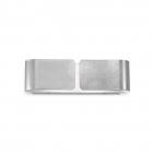 Настенный светильник Ideal Lux Clip Small 088273 серебристый, модерн