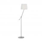 Торшер Ideal Lux Regol 014609 техно, белый, никель